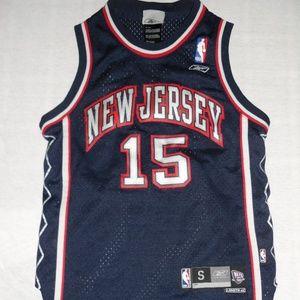 Reebok Shirts   Tops - Reebok New Jersey Nets Vince Carter Jersey b86e28552